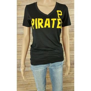 Small 5th Ocean Victoria's Secret Pink Pirates Tee