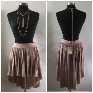 Dresses & Skirts - High Low Taupe Skirt