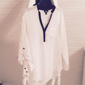 Tops - A.BYER SHEER BLOUSE