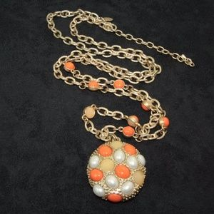 Lia Sophia Necklace with Oyster Pendant