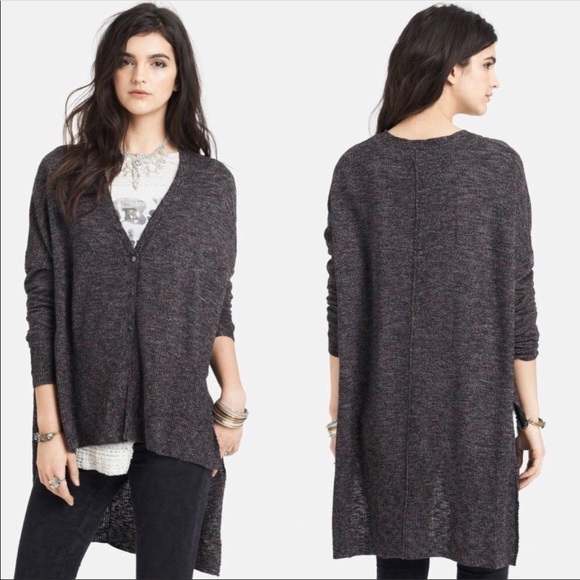 82% off Free People Sweaters - Free People TGIF hi lo oversized ...