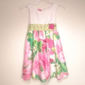 Girl's Floral Dress with Jacket Size 12