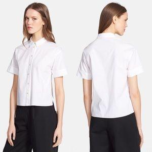 Kate Spade New York Stretch Poplin Button Shirt