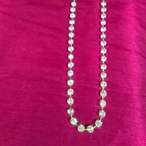 "Jewelry - 19"" long silver necklace"