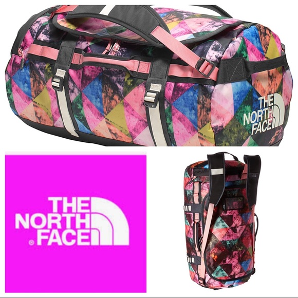 66fb697cb0 The North Face Base Camp Duffel Pink Terrazzo Med.