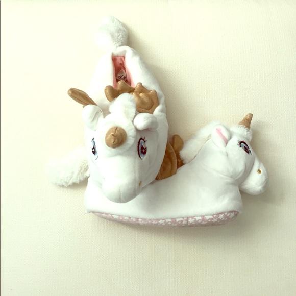 H\u0026M Shoes   Unicorn Slippers   Poshmark