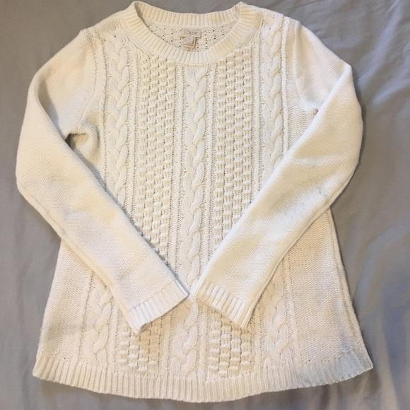 d43249d6a8 J. Crew Sweaters | J Crew Factory Popcorn Cable Knit Sweater | Poshmark
