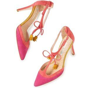NWOT Bodes Alice Heel in pink Size 8.5