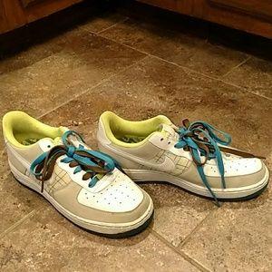 Woman's Nike Air sneaker.