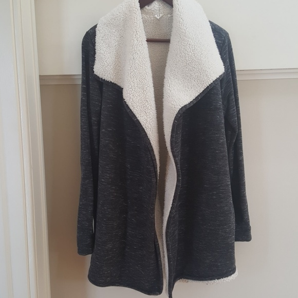 25fddef85 GAP Sweaters | Sherpa Lined Cardigan | Poshmark