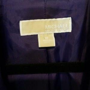 MICHAEL Michael Kors Jackets & Coats - Michael Kors Ruched 3/4 Sleeve Blazer