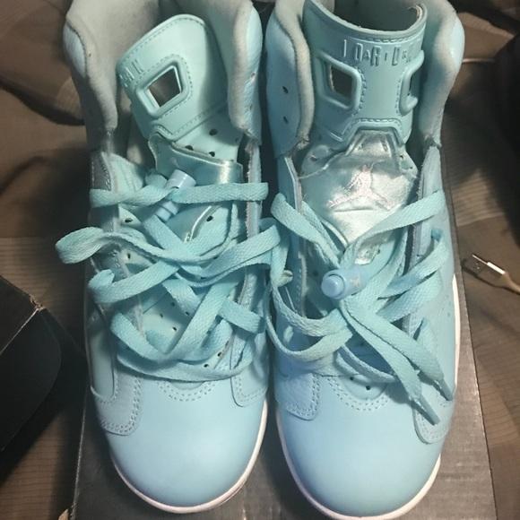 quality design 76fbd f3cb5 Blue Jordan 6s