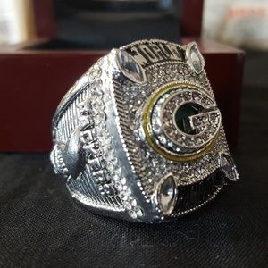 Other - Green Bay Packers 2010 Silver Fan Champ Ring