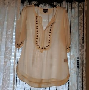 Angie Braded Top