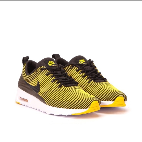 Pittsburgh Steelers Colors Nike Max Air Thea
