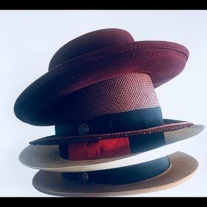 28da1fec7d0 Flame Keepers Hat Club Accessories - White Handwoven Wide Brim Panama Hat