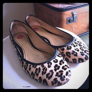 BP Leopard ballet flats size 8.