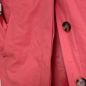 Eddie Bauer Jackets & Coats - Eddie Bauer Trench Coat Melon Pink NWT