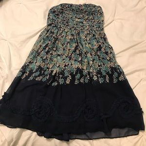 Lauren Conrad strapless dress