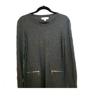 Michael Kors Tunic Sweater w/ Zippers
