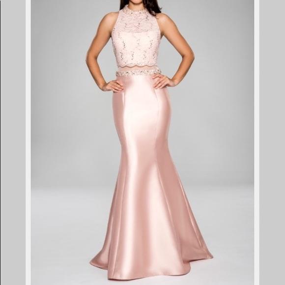 cachet Dresses | Nwt High Neck Evening Gown | Poshmark