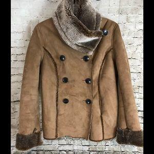 Jackets & Blazers - Women's Soft Surroundings Brown Coat Size XS
