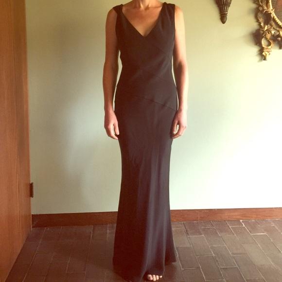 80% off Eva Chun Dresses Silk Evening Gown | Poshmark