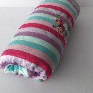 Other - Baby girl blanket, embroidered butterfly blanket,
