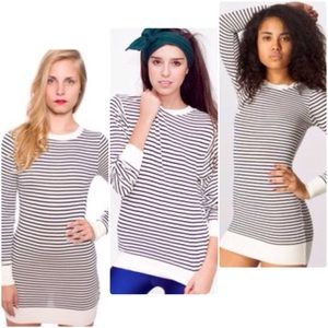 American Apparel Knit Sweater Crew Neck Dress