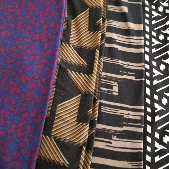LuLaRoe Pants - LULAROE LEGGING HAUL! 4 pair!