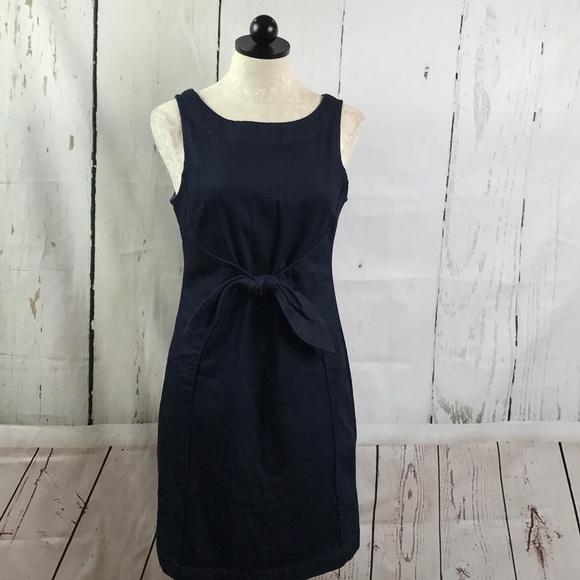 3f299d5887 Anthropologie Dresses   Skirts - Anthropologie Holding Horses Ribboned  Denim Dress