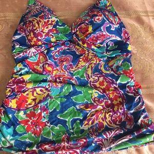 Floral Tankini top