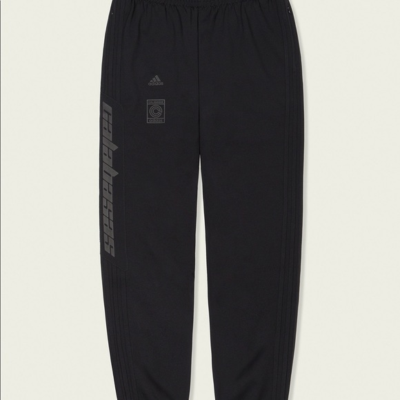 Adidas Yeezy Calabasas Track Pants Black XXL 2XL NWT