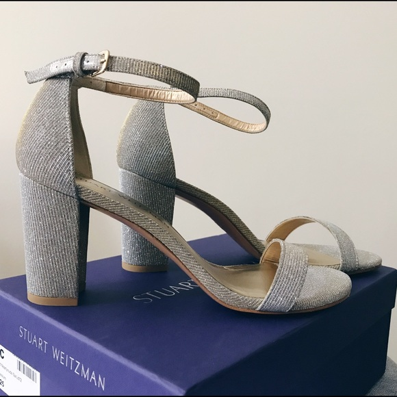 29cd329541e3 Stuart Weitzman Nearlynude block heels NIB