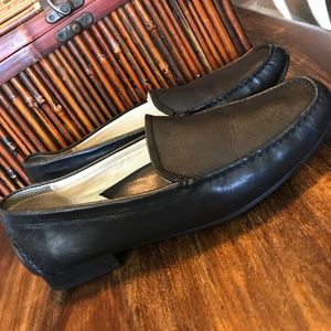 SALE 💙 Rockport loafers black leather 7.5 W