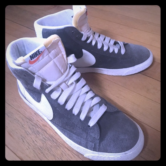 Nike Nike Blazer Mid Vintage Suede W Schuhe blau | Damen