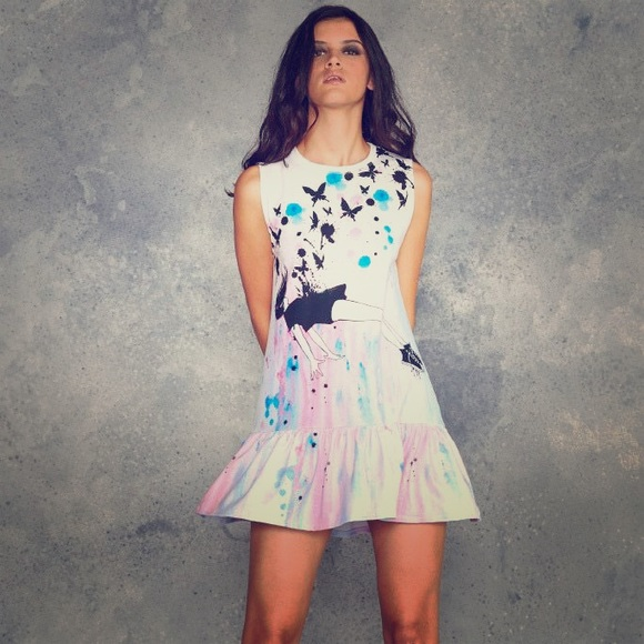 9bb2e215a0 Blackmilk Dresses   Skirts - Laura Zombie out of gravity friller dress