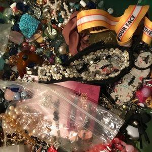 Jewelry - 500lbs silver/costume jewelry sold per piece