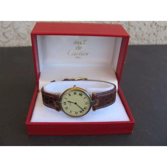 171f70f09be1 Cartier Accessories - Cartier must de Cartier Vermeil Unisex Watch