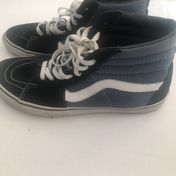 90511157552 Men s vans off the wall high top shoes