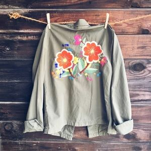 Lucky Military Style Shirt