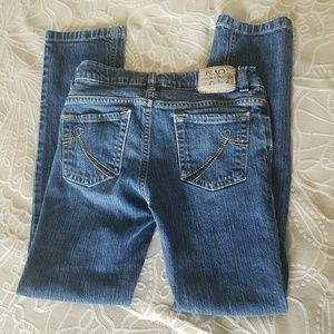 TCP girls size 10 straight skinny stretch jeans