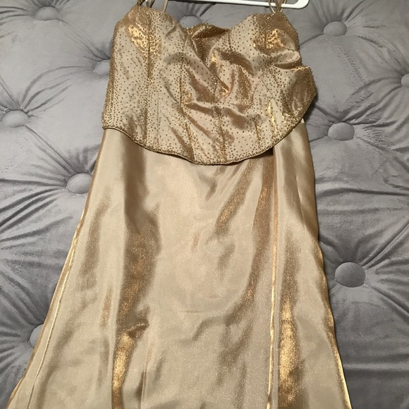 Nadine Dresses | Used Gold Ball Gown | Poshmark