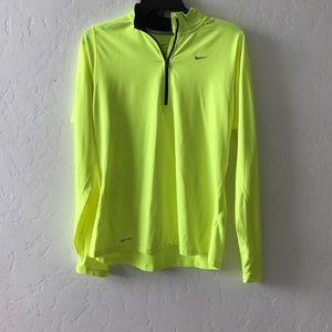 Brand new nike pullover neon yellow