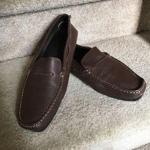 J Crew brown Mocs