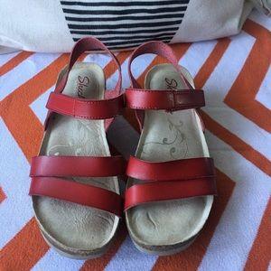 0c67251d8679 Skechers Shoes - Women s Troos Simply Effortless Wedge Sandal