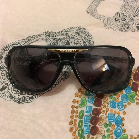 "7998f1ee4f7d2 Vonzipper ""Stache"" Sunglasses. M 59fe042e4127d089eb08cfcf"