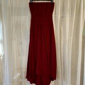 Boutique Dress: Hi-Lo Midi Dress