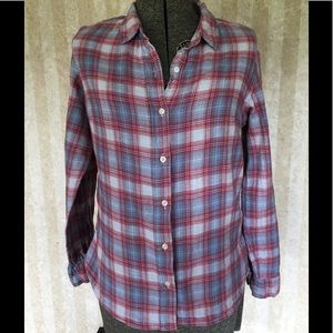 Jachs Girlfriend plaid button down.