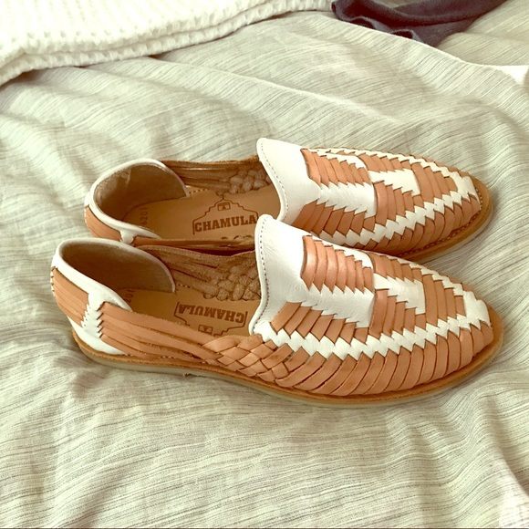 ca3a7d1267540 Madewell Chamula Cancun huarache shoes, size 6.